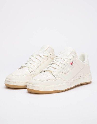 Adidas continental 80      owhite/rawwht/gum3