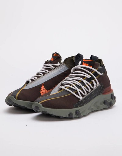 online store 32c03 dc909 Nike Ispa React Velvet brownterra orange-dark stucco