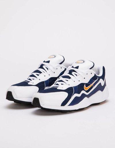 2ae52a19630261 Nike QS Air Zoom Binary blue carotene-white-black
