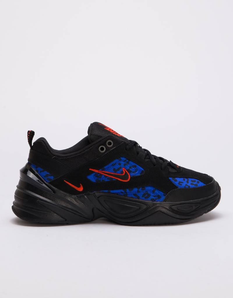 Nike Womens M2K Tekno Black/habanero red-racer blue