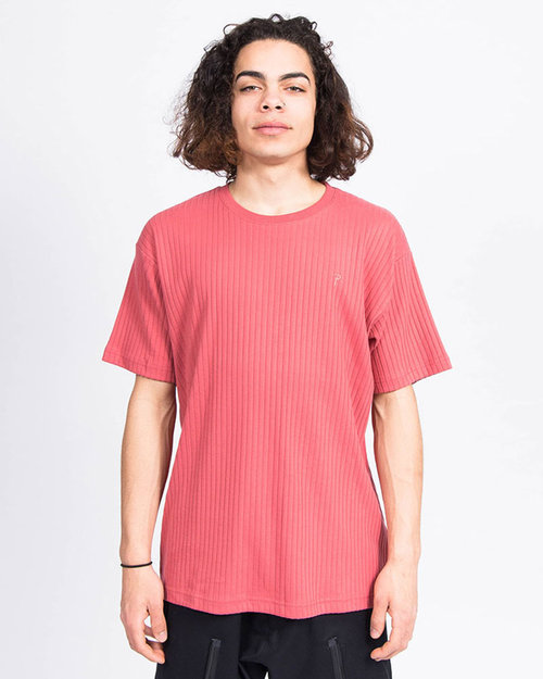 Patta Patta Relief T-Shirt Slate Rose
