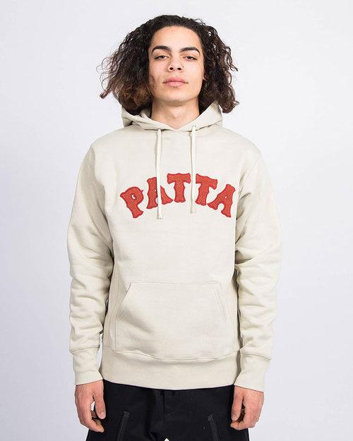 Patta Patta Biker Logo Hooded Sweater Pelican