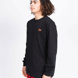 Patta Athletic Cord Heavy Longsleeve Black