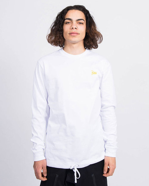 Patta Patta Athletic Cord Heavy Longsleeve White