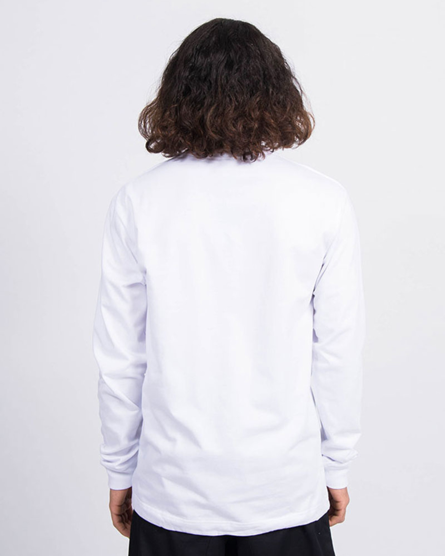 Patta Athletic Cord Heavy Longsleeve White
