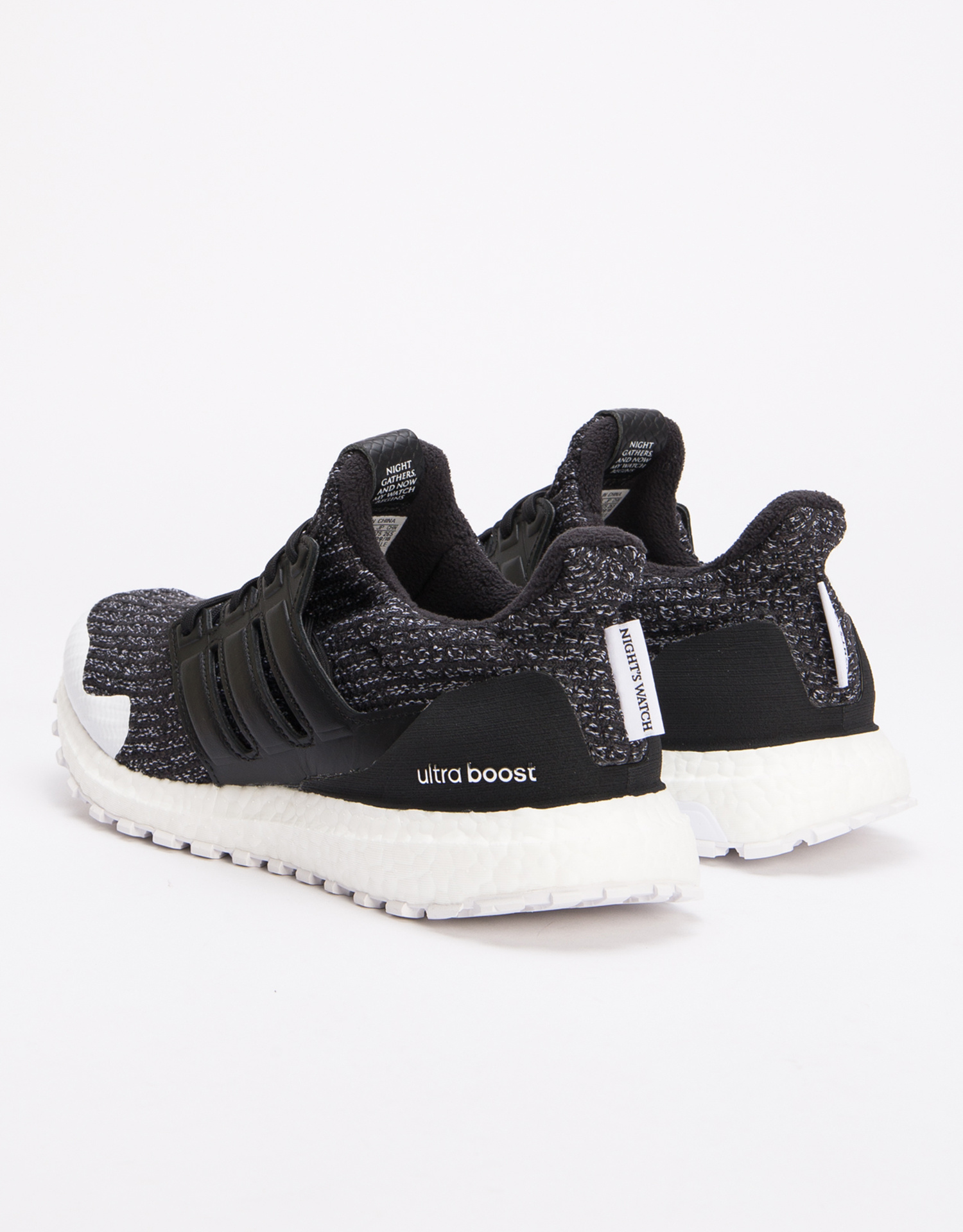 "adidas Originals x Game of Thrones Ultraboost ""Nights Watch"" Core Black/White"