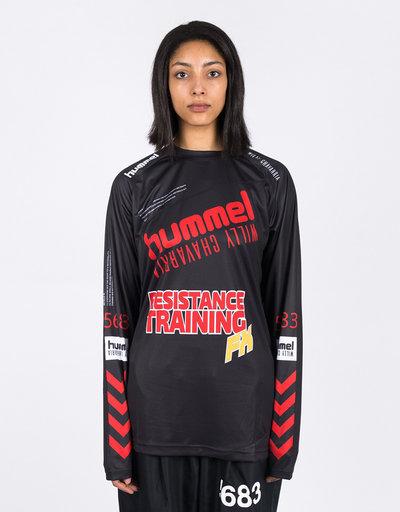 Hummel HMLWilly Player Jersey L/S Black