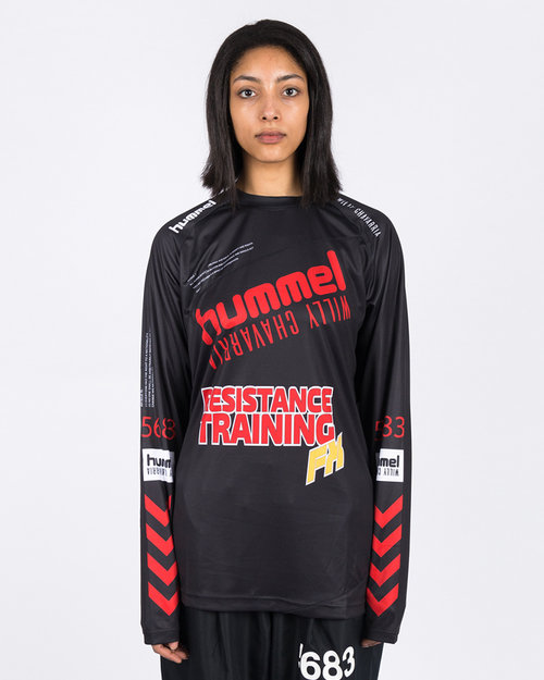 Hummel Hummel HMLWilly Player Jersey L/S Black