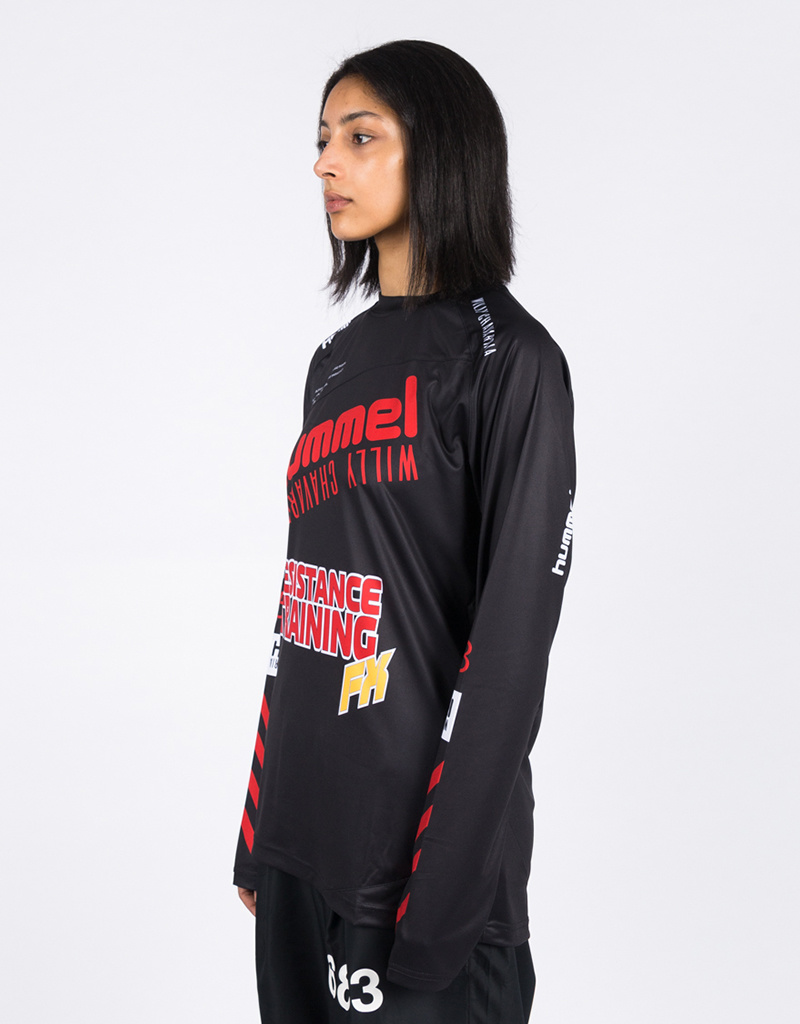 Hummel HMLWilly Player Jersey L/S Black