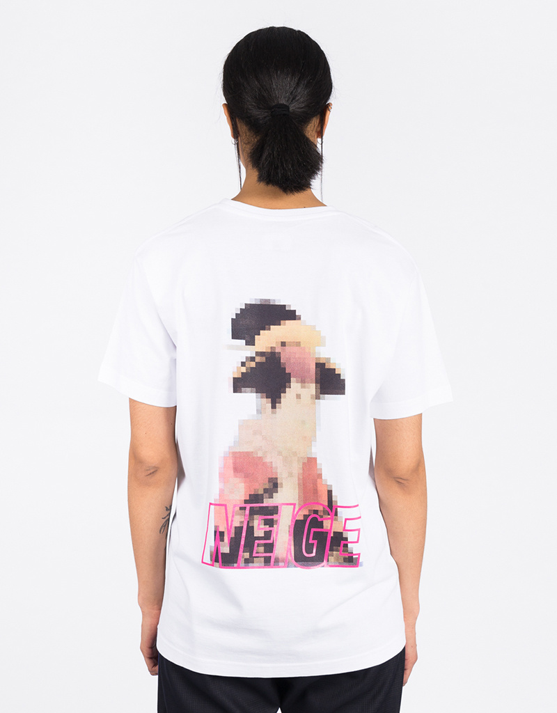 Neige Geisha Tee White