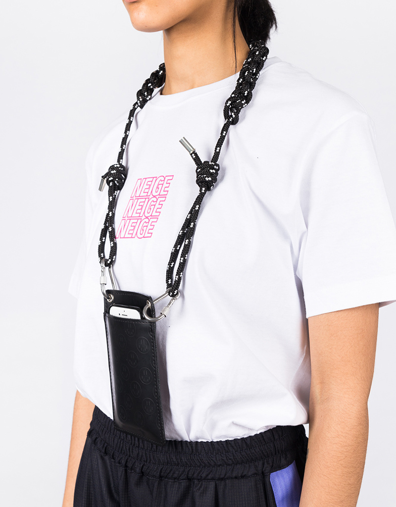 NEIGE Smiley Faces Neck Pouch