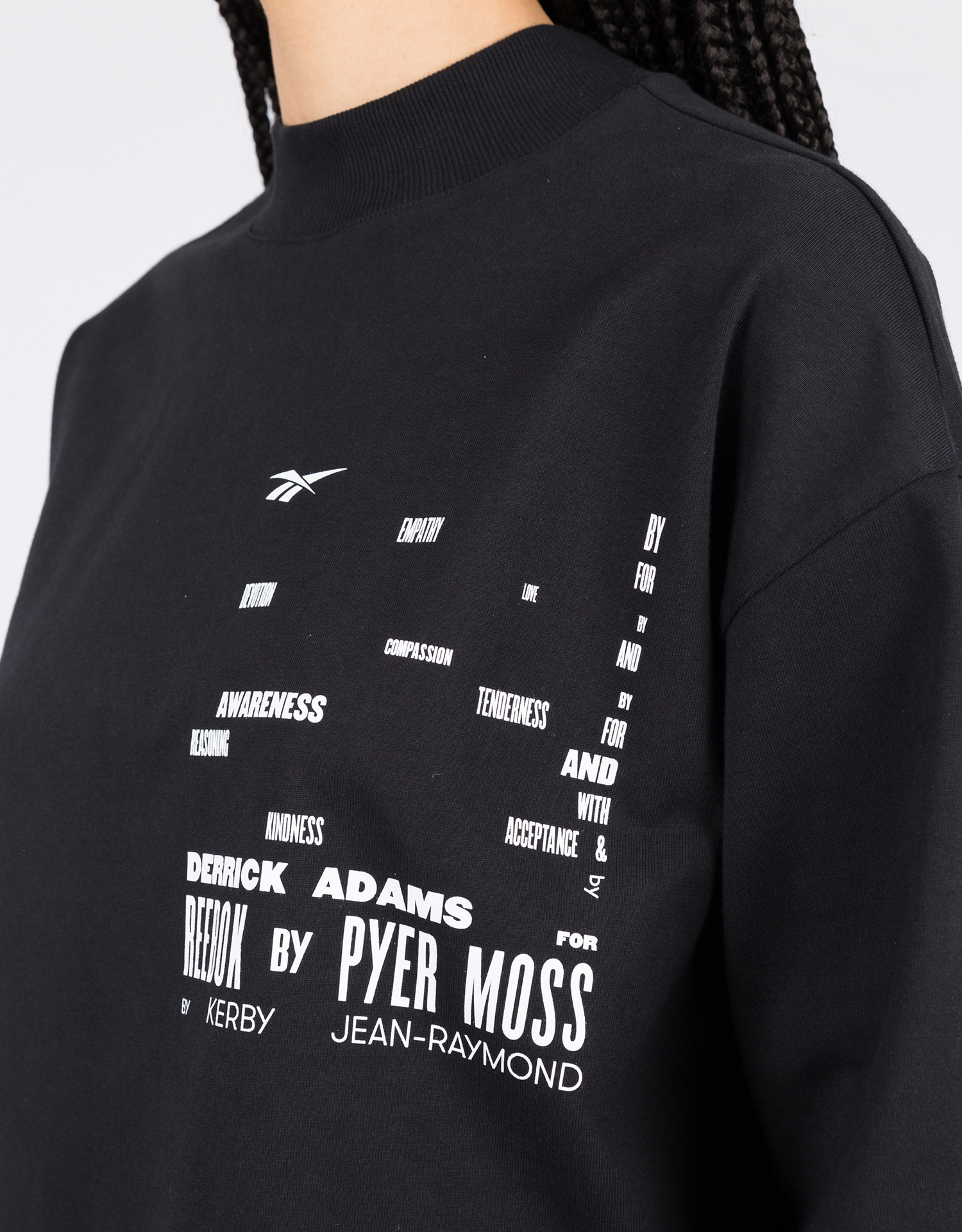Reebok X Pyer Moss crew          black