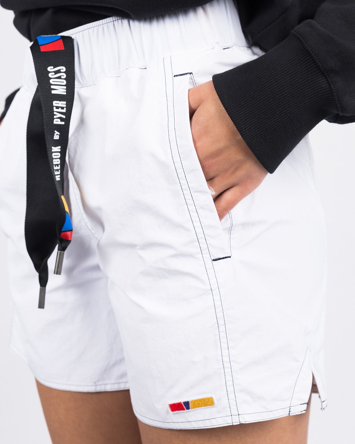 Reebok X Pyer Moss short shorts white
