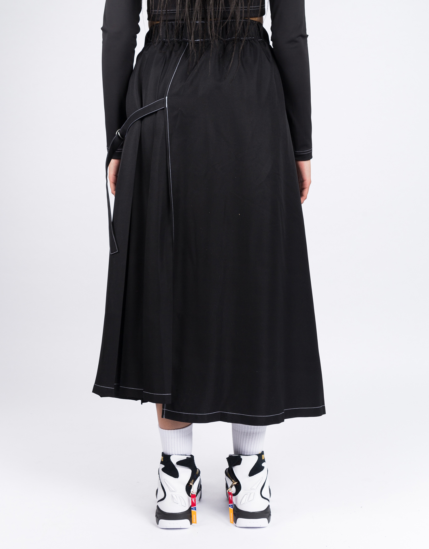 Reebok X Pyer Moss ring skirt    black