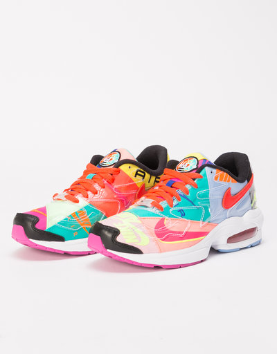 e3d7127d019b Nike Air Max 2 Light x Atmos BLACK BRIGHT CRIMSON