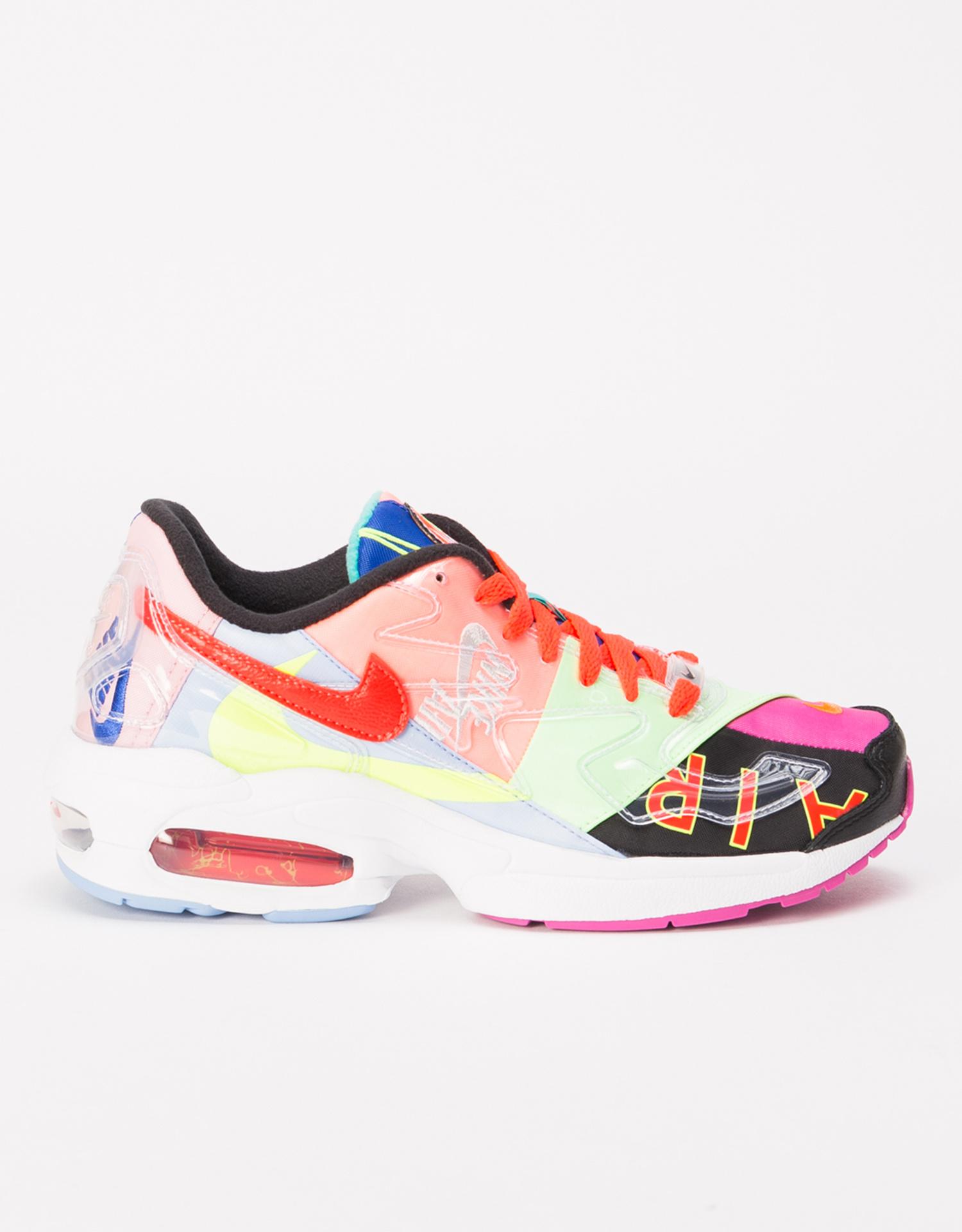 Nike Air Max 2 Light x Atmos BLACK/BRIGHT CRIMSON