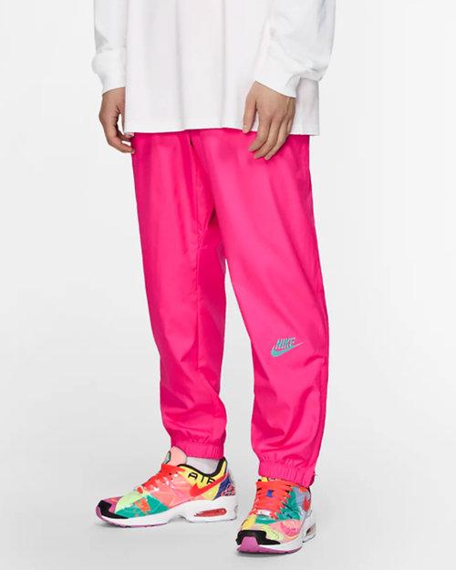 Nike Nike x Atmos NRG VNTG Patchwork Track pant Hyper Pink/ Hyper Jade