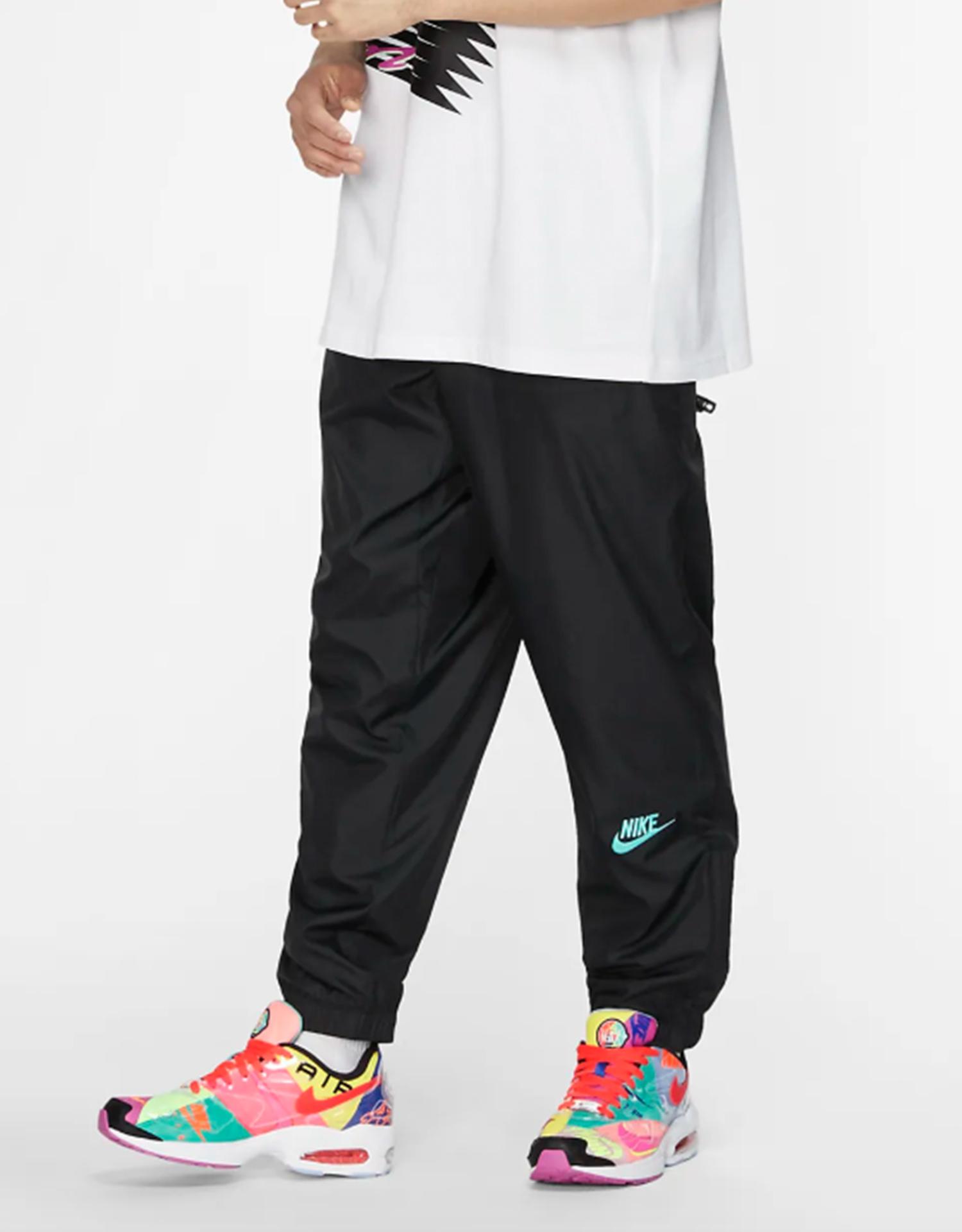 Nike x Atmos NRG VNTG Patchwork Track pant Black/ Hyper Jade