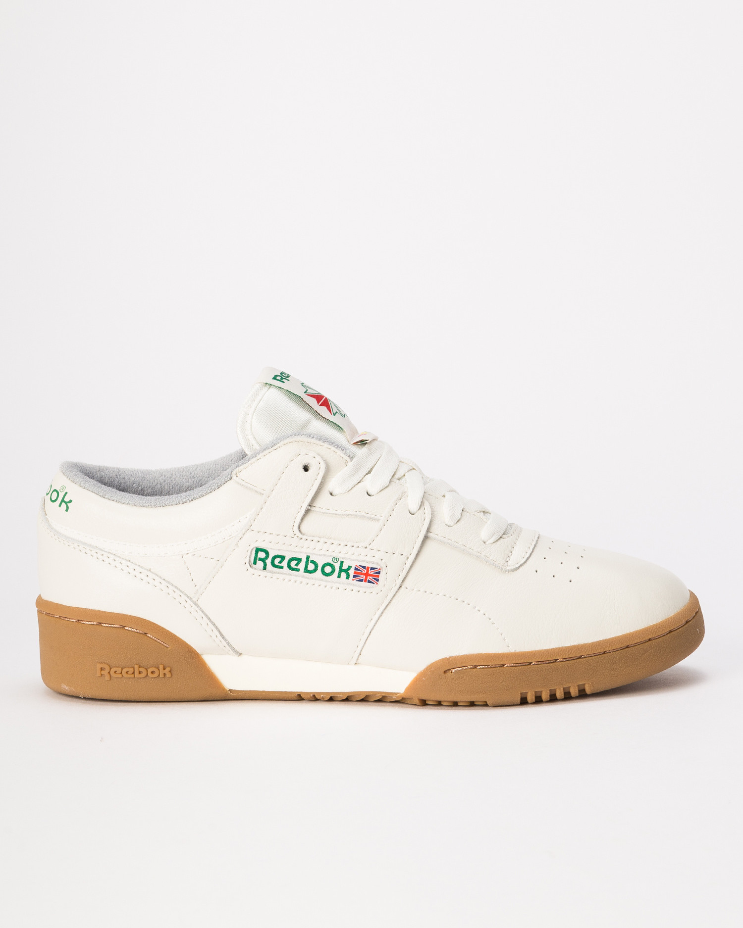 Reebok workout clean mu    chalk/green/royal/re
