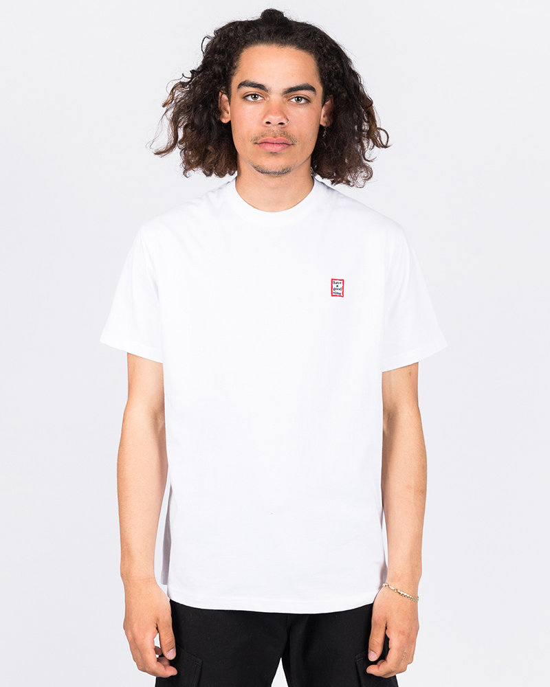 HAVE A GOOD TIME Have A Good Time Mini Frame Shortsleeve Tee White