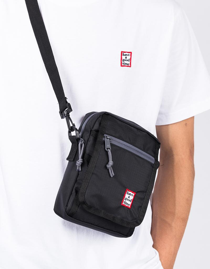 Have A Good Time Frame Shoulder Bag Black