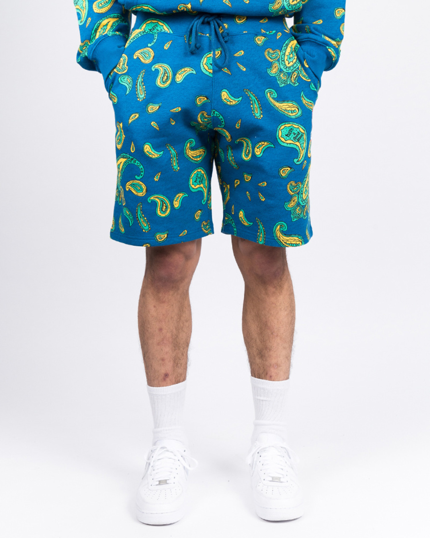 Have A Good Time Shorts Paisley Mini Frame Deep Blue
