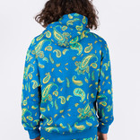 Have A Good Time Hoodie Paisley Mini Frame Pullover Hoodie Deep Blue