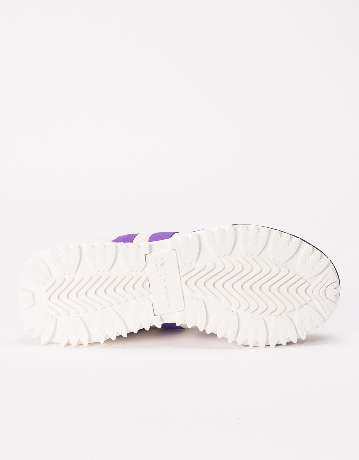 adidas x Alexander Wang Wangbody Run CORE WHITE/SHARP PURPLE/CLEAR BROWN