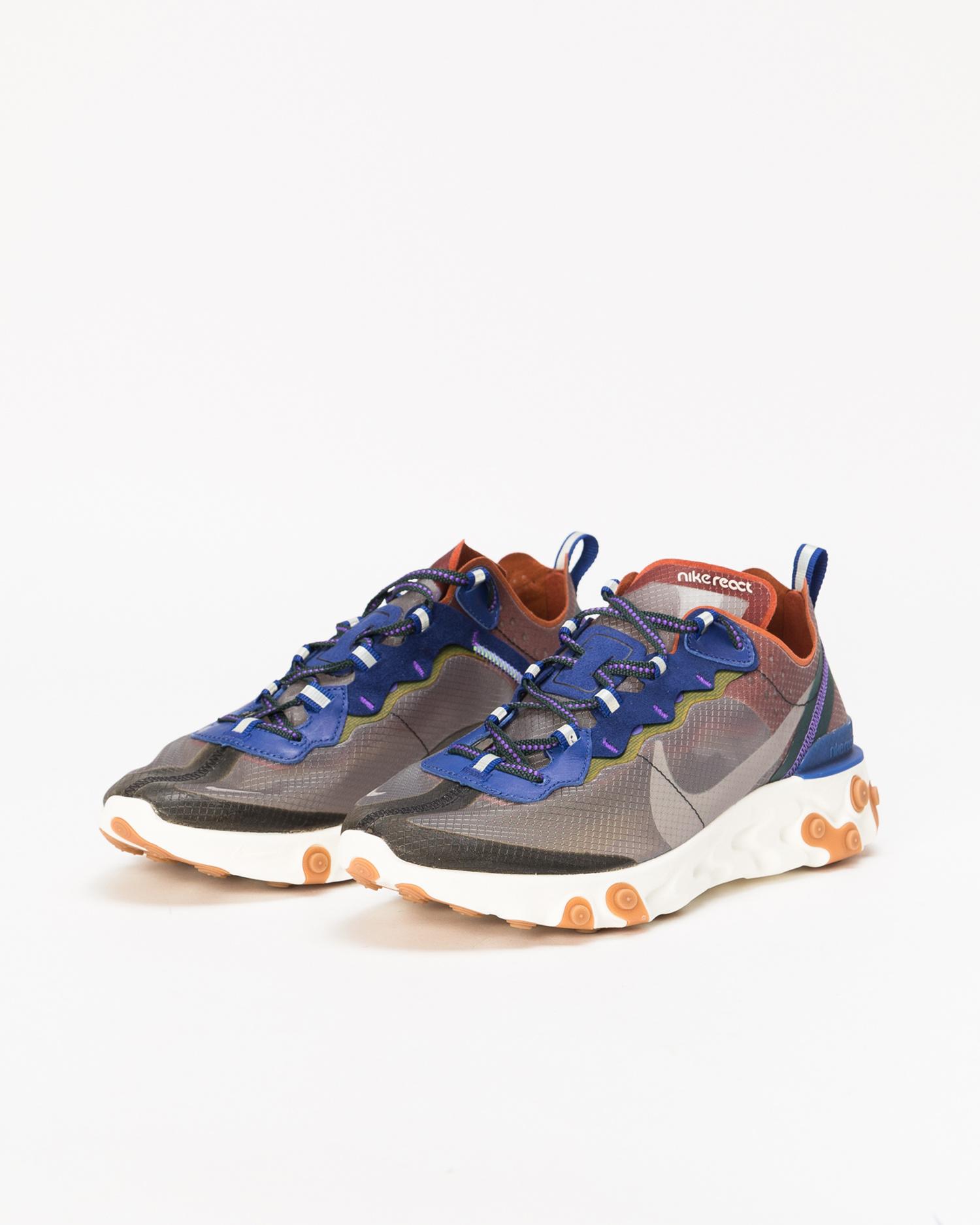 Nike React Element 87 Dusty Peach Atmosphere Grey