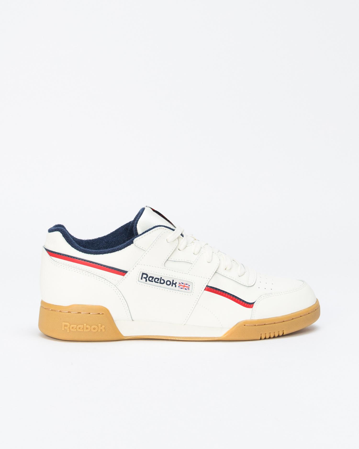 Reebok workout plus mu     classic white/navy/r