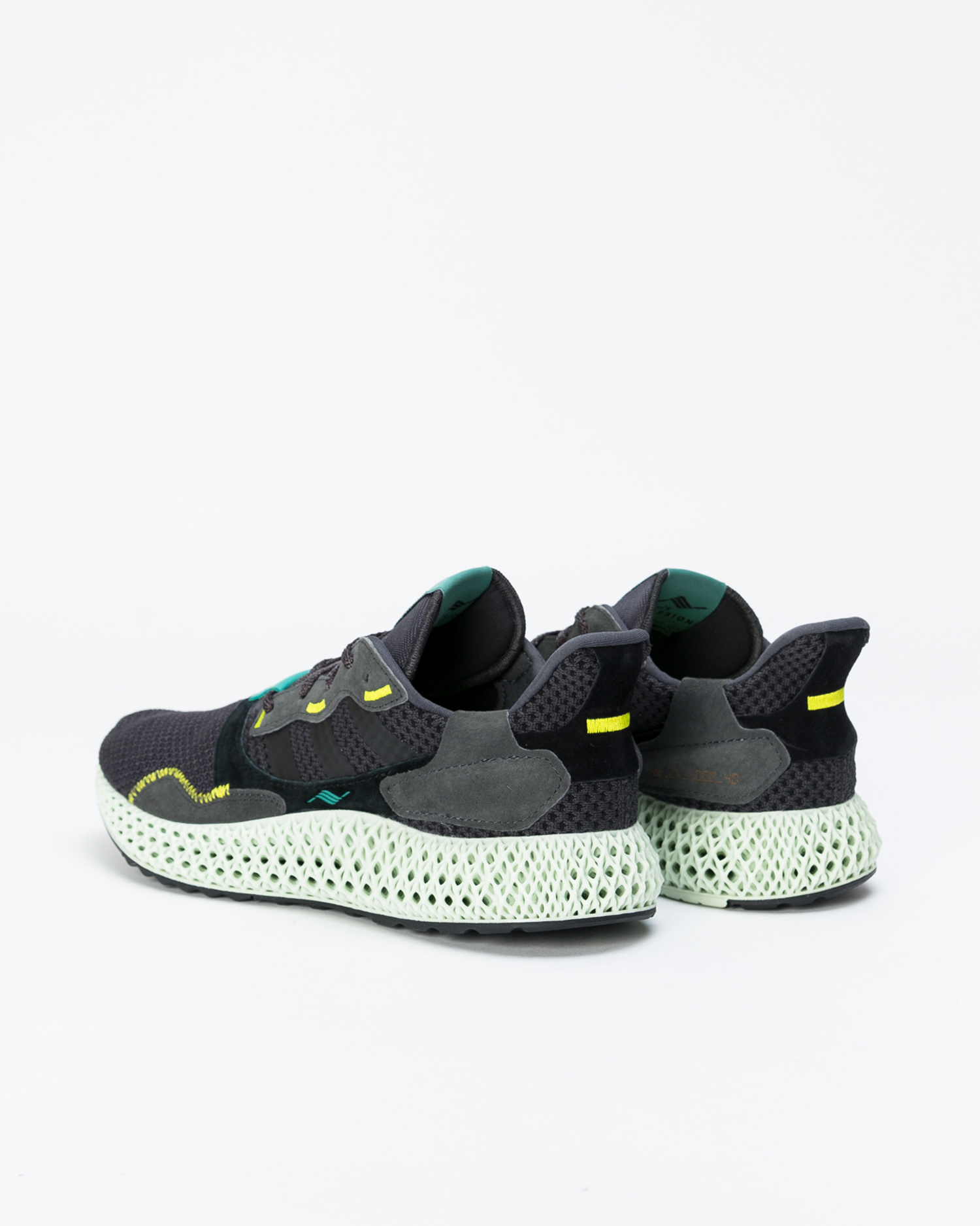 Adidas zx 4000 4d          carbon/carbon/sesoye