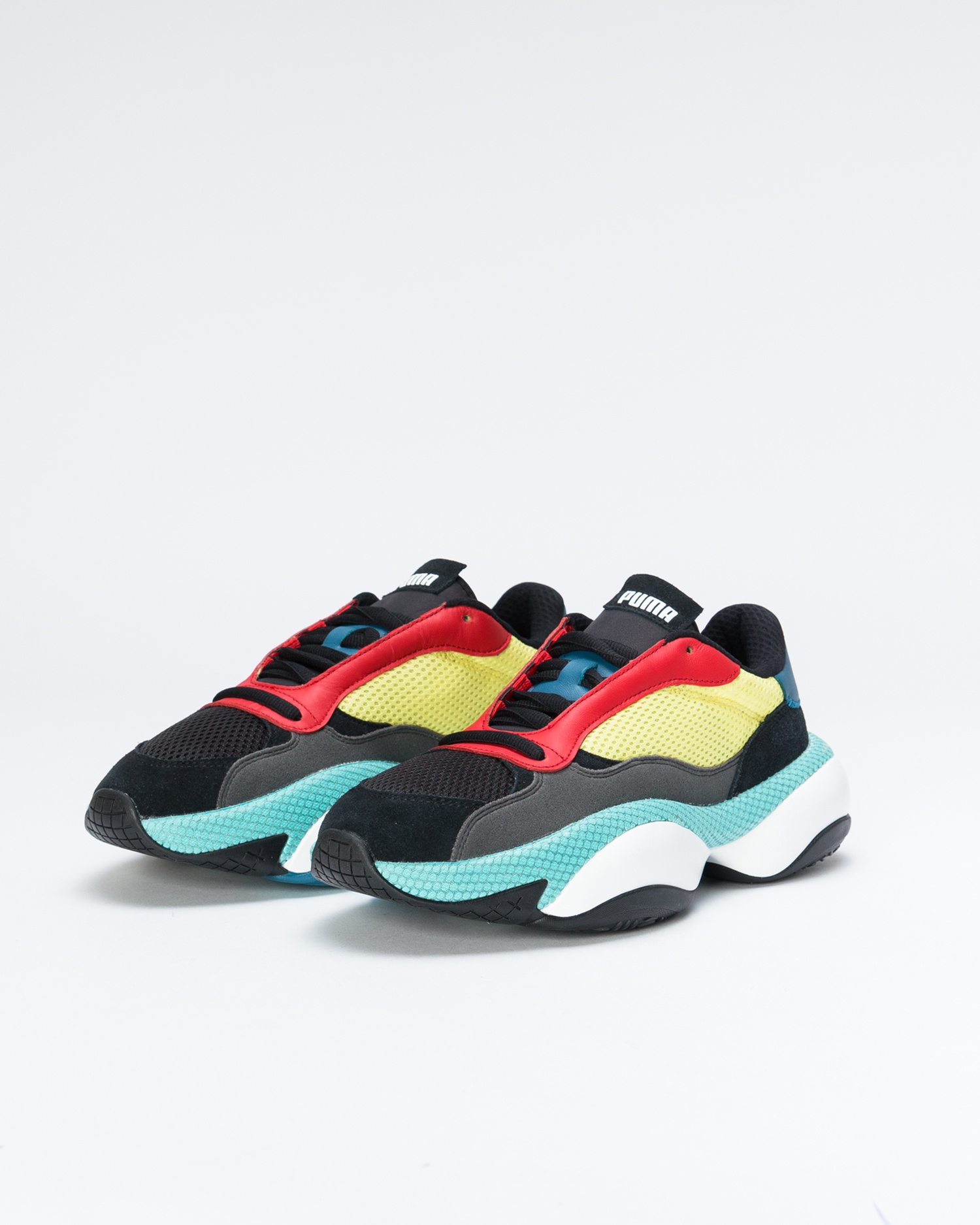 Puma Alteration Kurve Black/Limelight