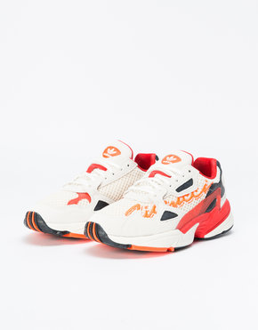 Adidas adidas x Fiorucci Womens Falcon Off-White/Red/Solar Orange