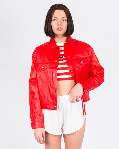 Adidas adidas x Fiorucci Kiss Jacket Red