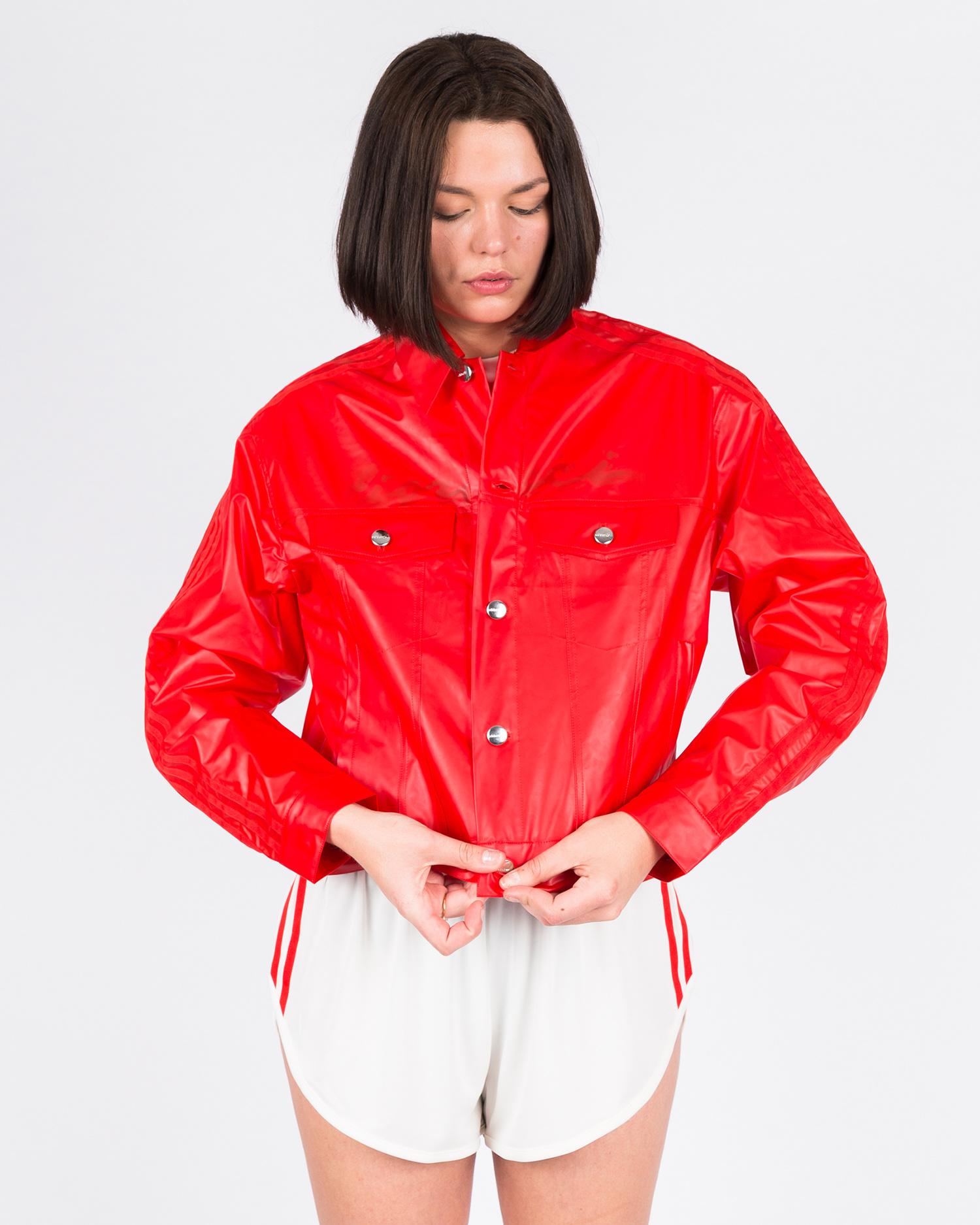 adidas x Fiorucci Kiss Jacket Red