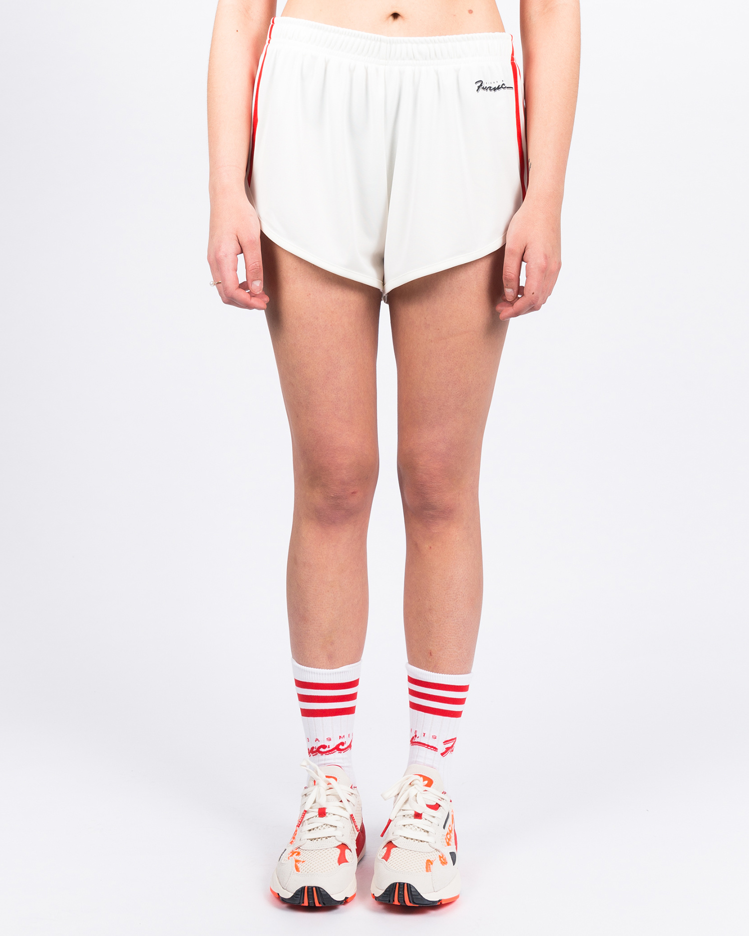 adidas x Fiorucci Vintage Short Off-White/Red/Black