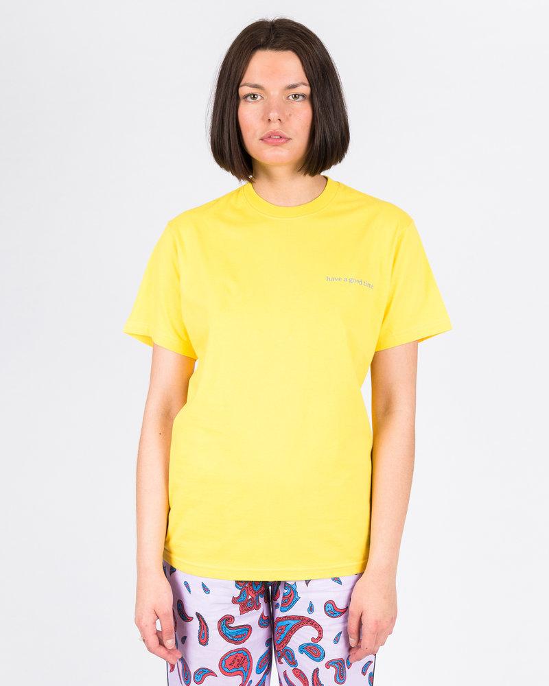 HAVE A GOOD TIME Have A Good Time Side Logo Shortsleeve T-shirt Lemon