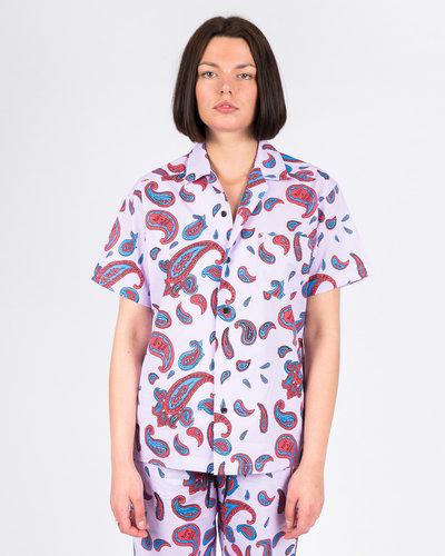 Have A Good Time Shirt Paisley Aloha Shortsleeve T-shirt Violet