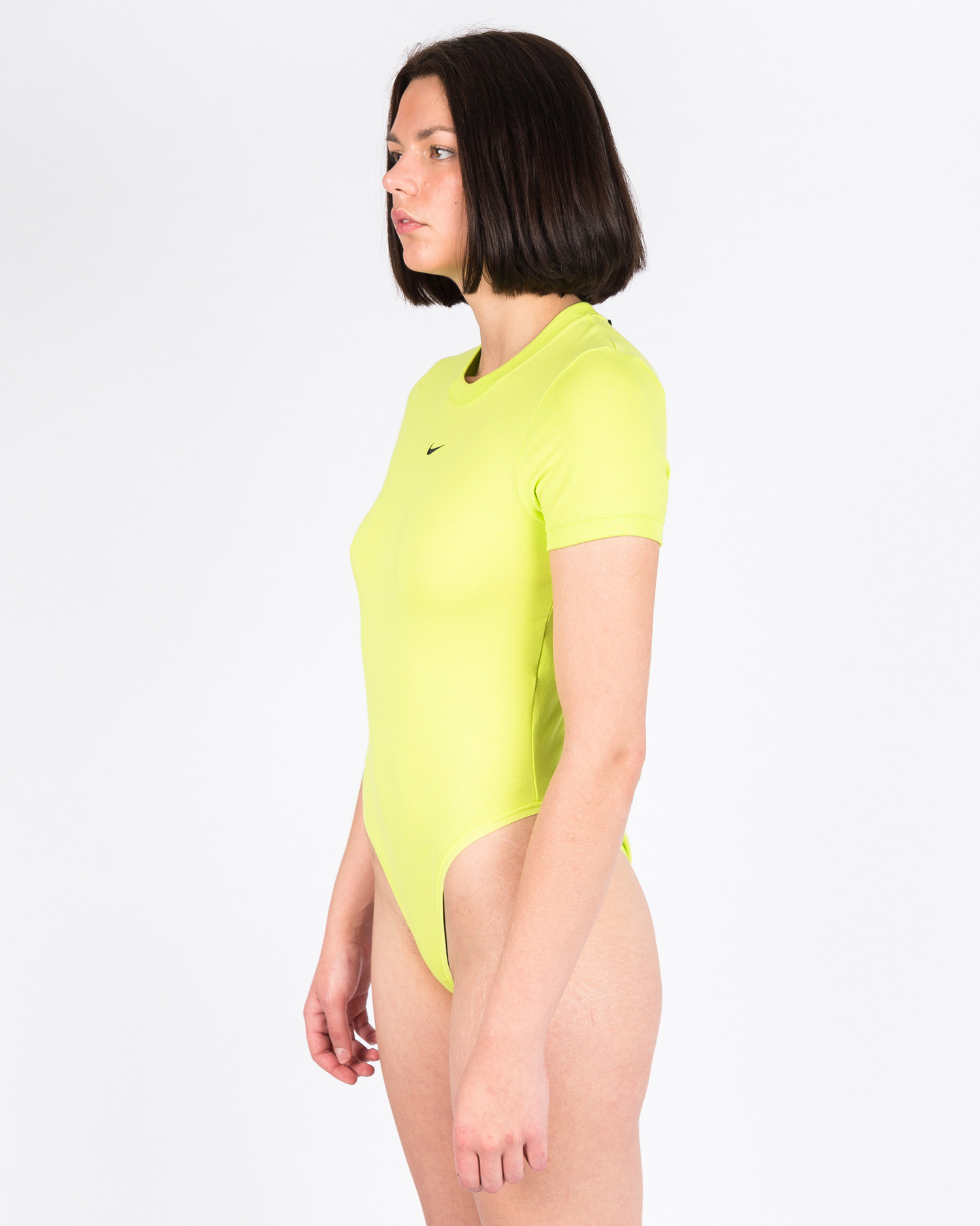 Nike Women's Sportswear Essential Bodysuit lbr Cyber/cyber/black