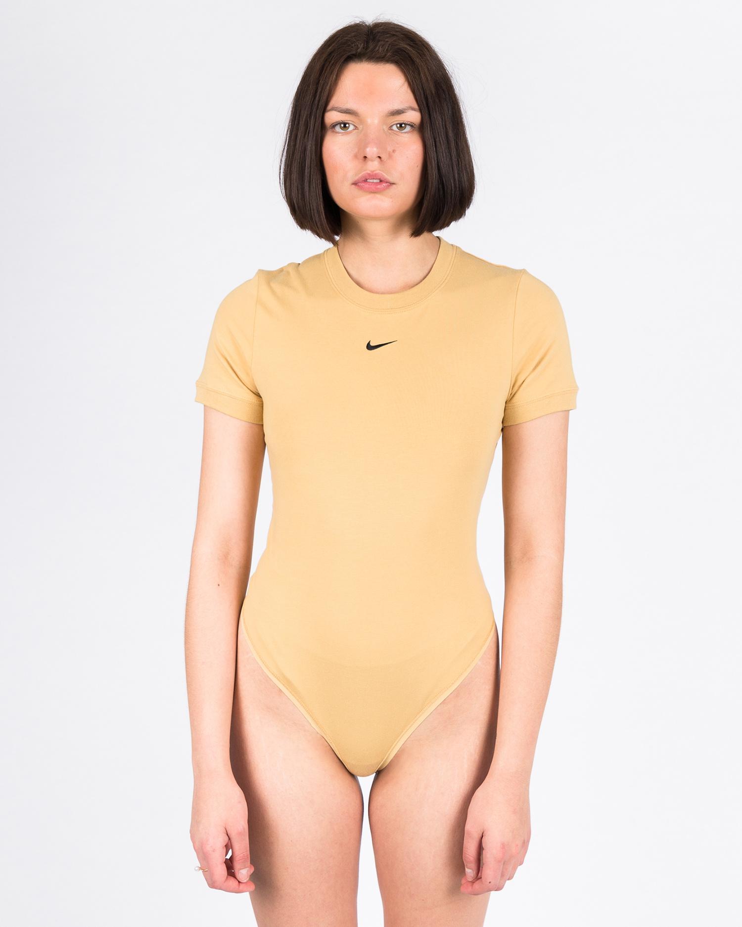 Nike Women's Sportswear Essential Bodysuit Club gold/club gold/black