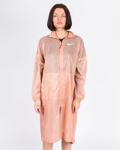 Nike W Sportswear Jacket Woven Swoosh ROSE GOLD/WHITE