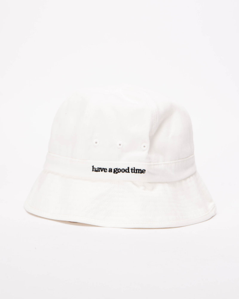 HAVE A GOOD TIME Have A Good Time Bucket Hat White