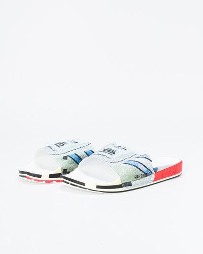Adidas Raf Simons Micro Adilette Silvmt/Brired/Brired