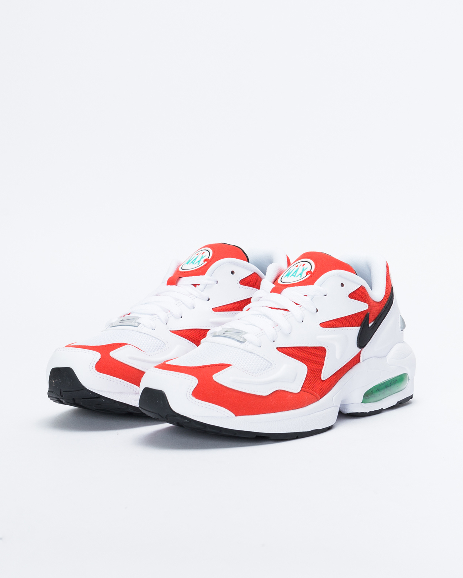 new product 708fe 028f6 Nike Air Max 2 Light White black-habanero red-cool grey ...