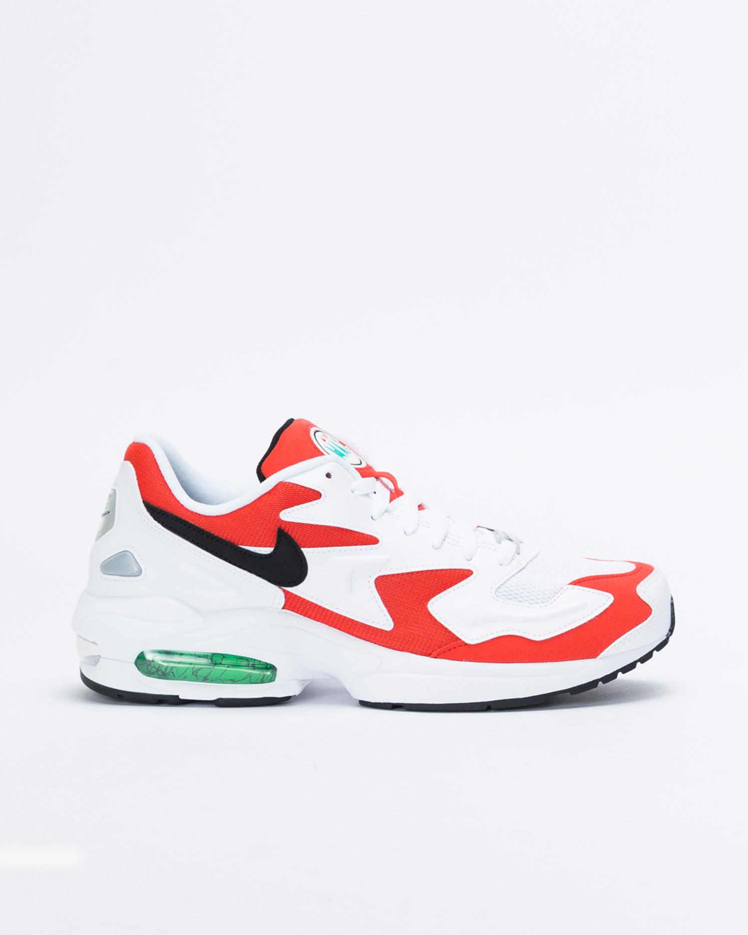 Nike Air Max 2 Light Whiteblack habanero red cool grey