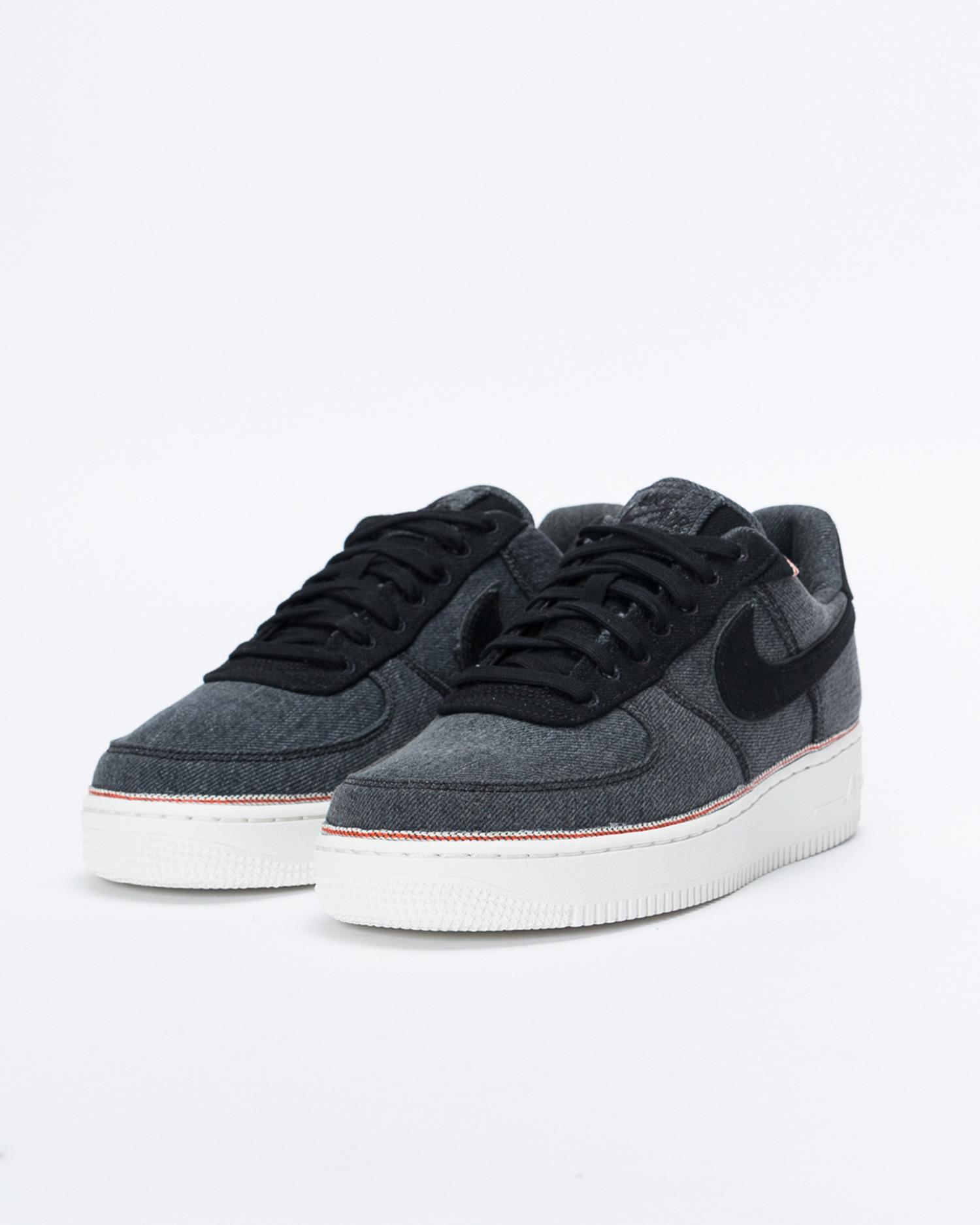 Nike x 3x1 Air Force 1 'Denim Pack' Black/Black-Summit White