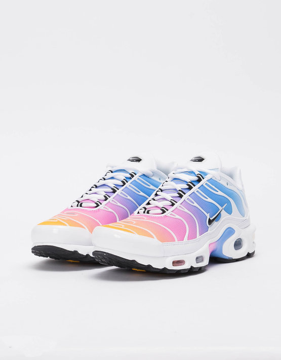 5af3474e3f Nike W Nike Air Max Plus WHITE/BLACK-UNIVERSITY BLUE-PSYCHIC PINK - Avenue  Store