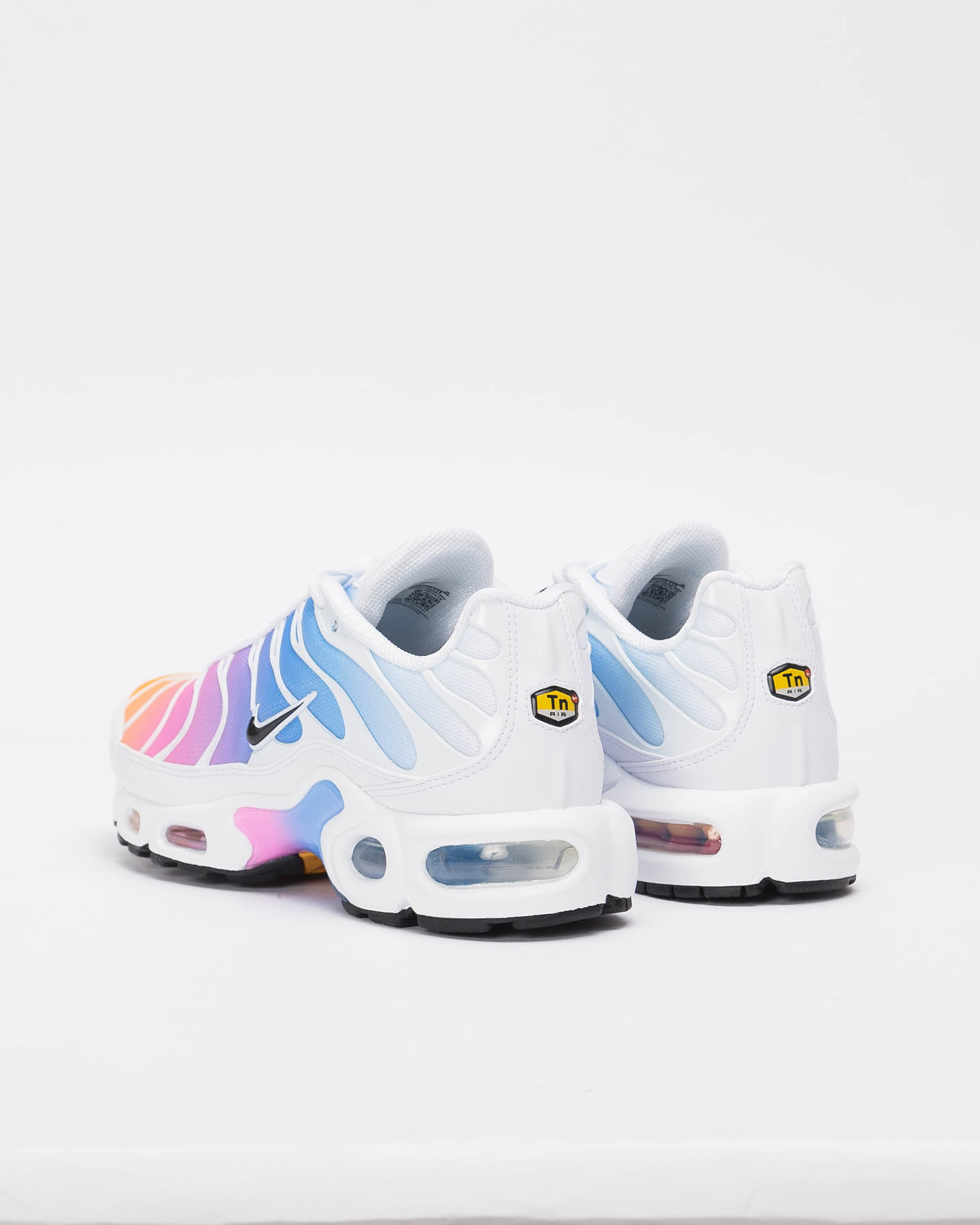W Nike Air Max Plus white/black-university blue-psychic pink