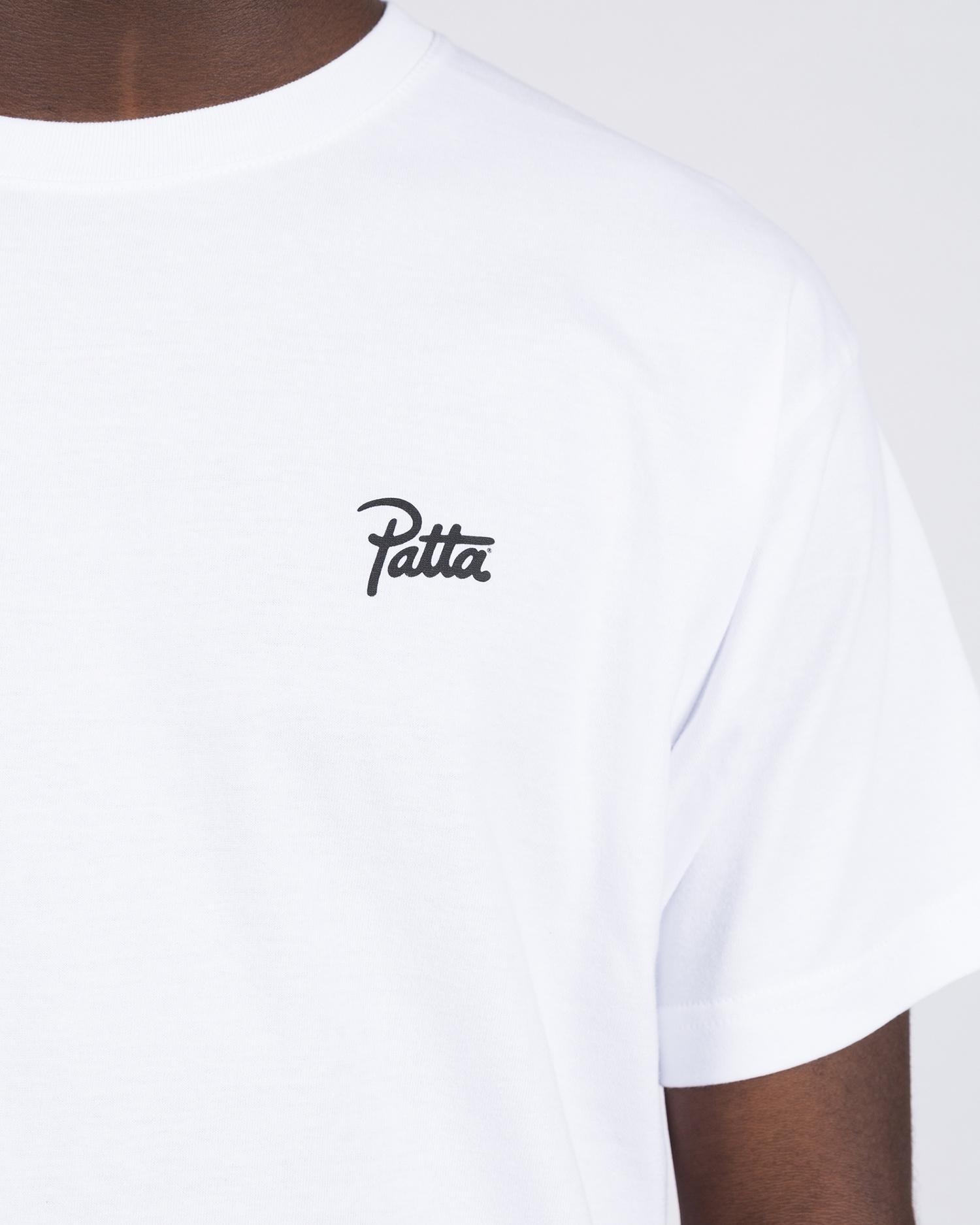 Patta Eternal Education T-shirt White