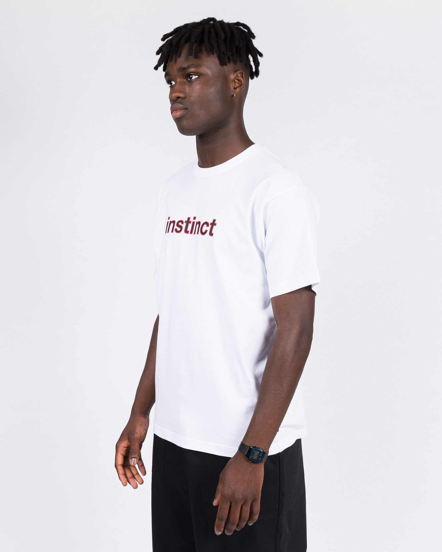 Patta Instinct T-shirt White